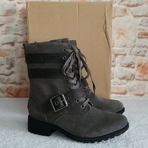 New UGG Zia Lace Up Boots